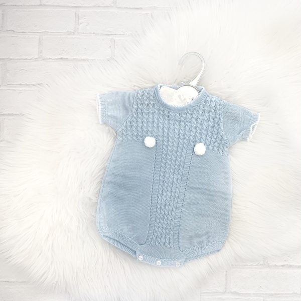 Baby Blue Romper Suit