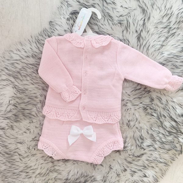 Baby Girls Knitted Two Piece Set