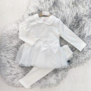 Baby Girls Dress & Leggings Outfit