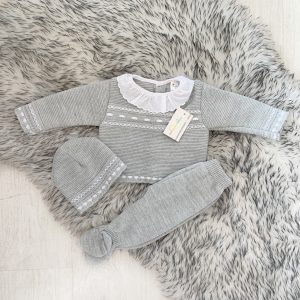 Neutral Grey Three Piece Set