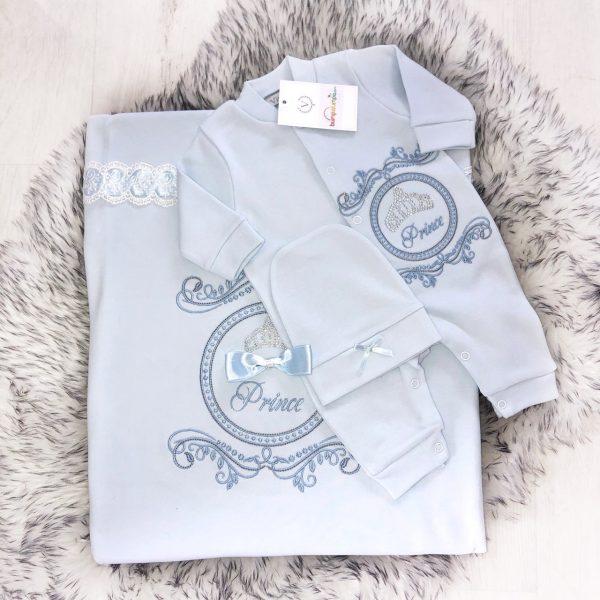 Baby Boys Prince Gift Set