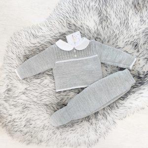 Grey & White Baby Set