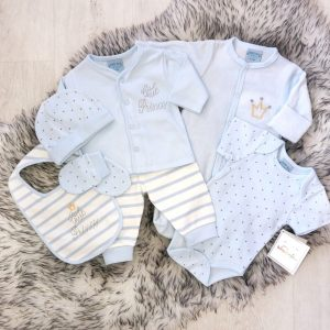 Baby Boys Seven Piece Set