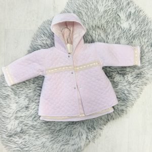 Baby Girls 3 Piece Padded Outfit