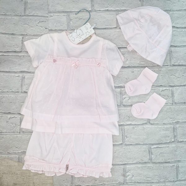 Coco Baby Girls Pink Outfit