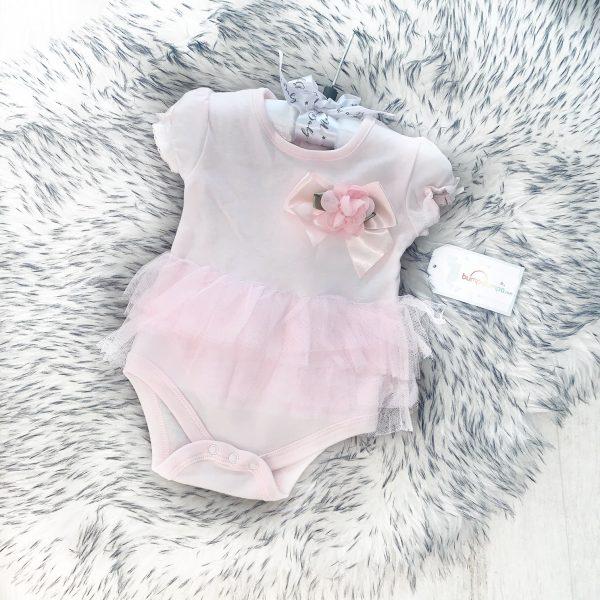Baby Girls White Bow & Pom Pom Socks