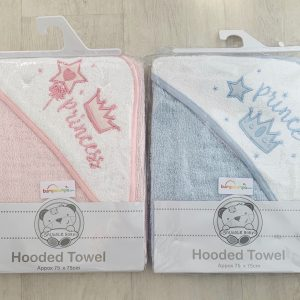 Baby Towel with Hood & Embroidery