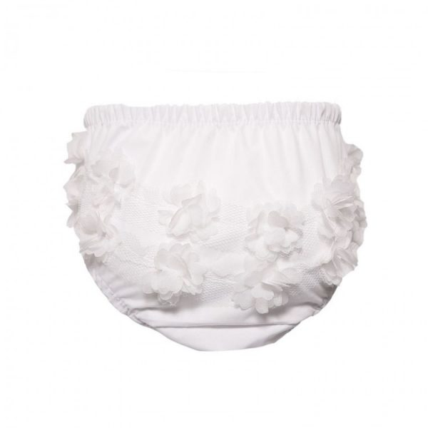 White Frilled Knickers