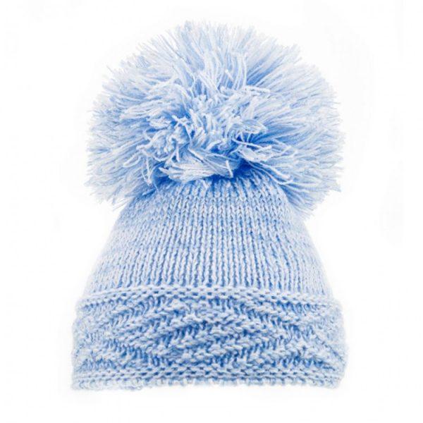 Blue Diamond Hem Hat