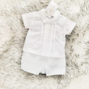 Baby Boys Shirt & Shorts Set