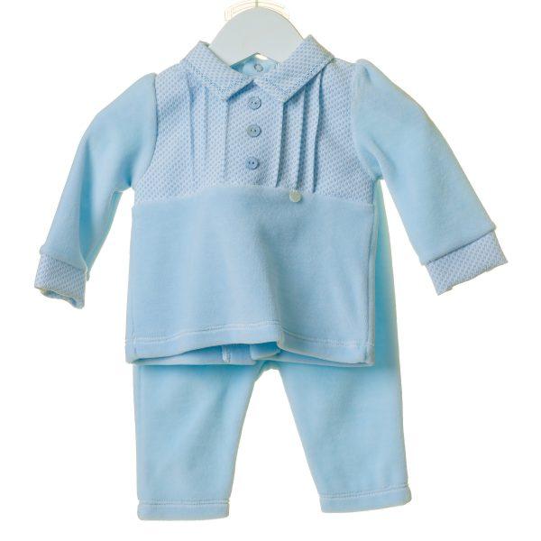Blue Baby Boys Fleece Two Piece Set