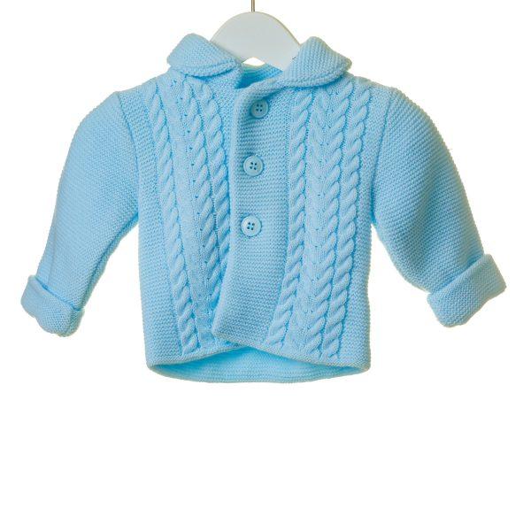 Baby Boys Blue Cardigan
