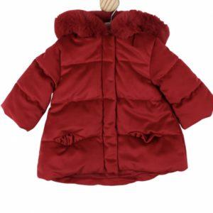 Baby Girls Red Padded Coat