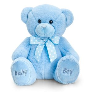 Baby Boys Blue Teddy Bear