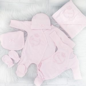 Baby Girls Pink Little Princess 6 Piece Set