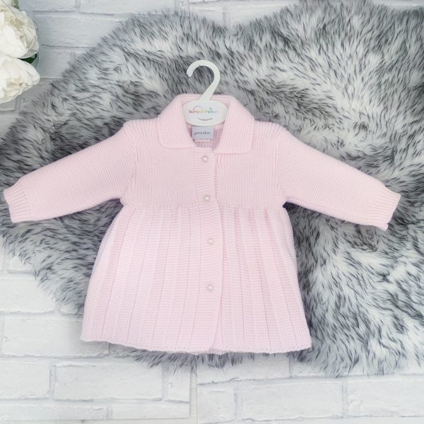 Baby Girls Pink Knitted Jacket