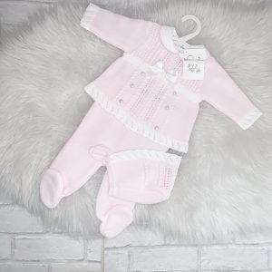 Baby Girls Pearl Three Piece Set