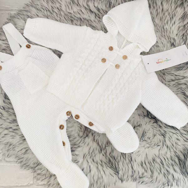 WHITE BABY NEST