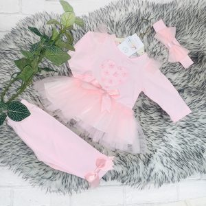 Baby Girl & Toddlers Three Piece Leggings Set