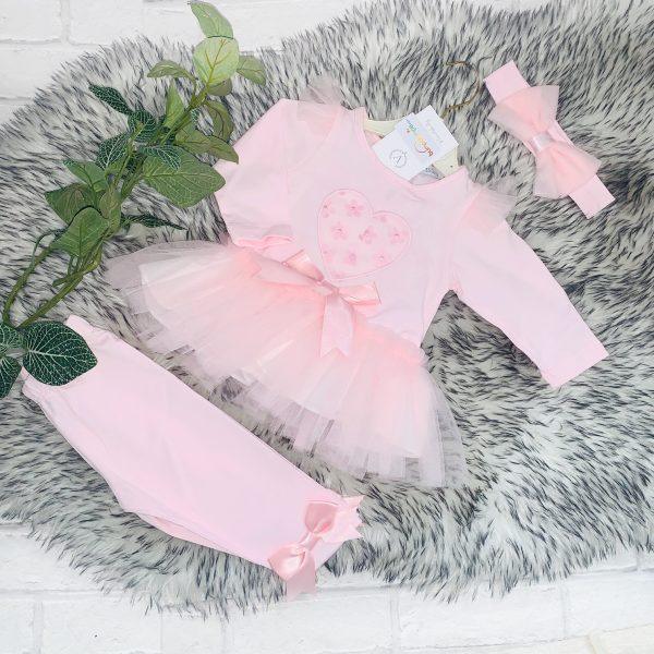 Baby Girl & Toddlers Three Piece Leggings Set