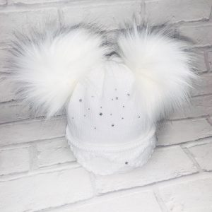 GIRLS WHITE BOW SHOES