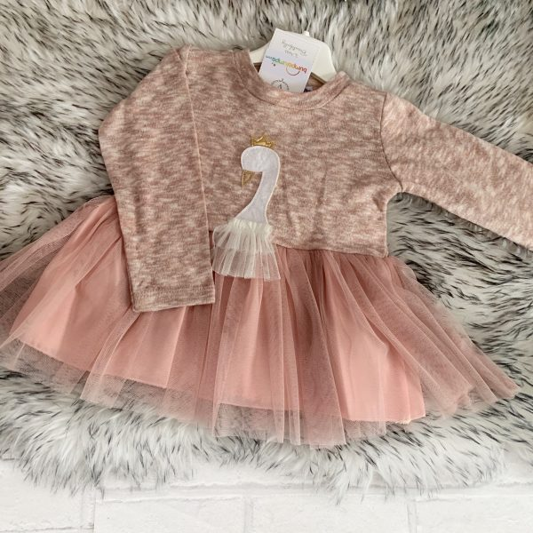 Infant Girls Swan Set