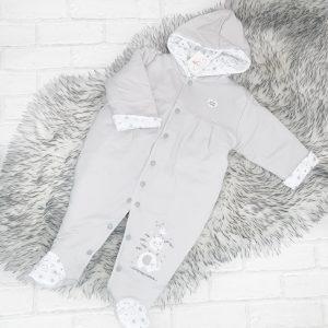 Unisex Grey Pram Suit