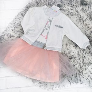Baby Girls Three Piece Tutu Set