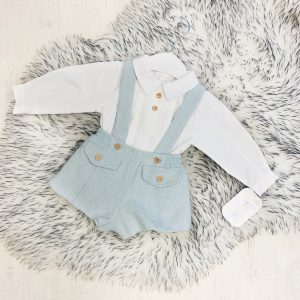 Baby Boys & Toddler Dungaree Set