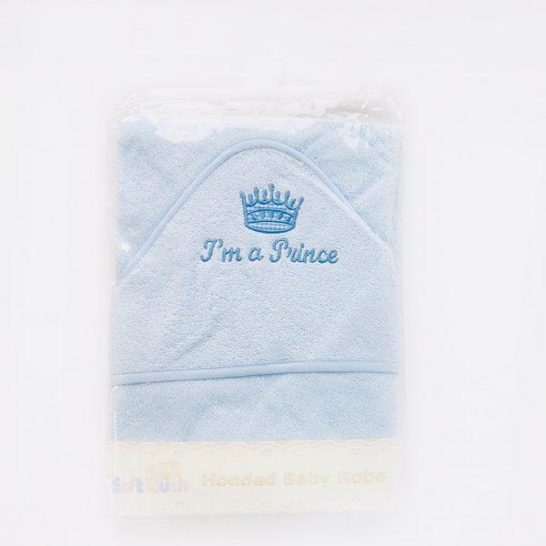 Baby Boys Prince Towel