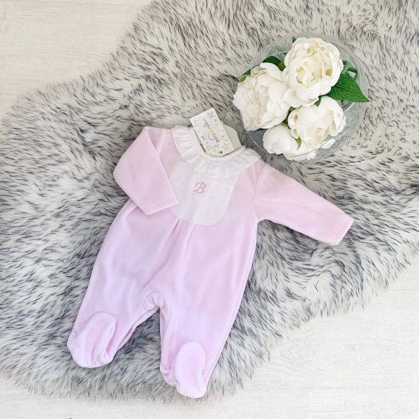 BABY GIRLS PINK TEDDY BEAR