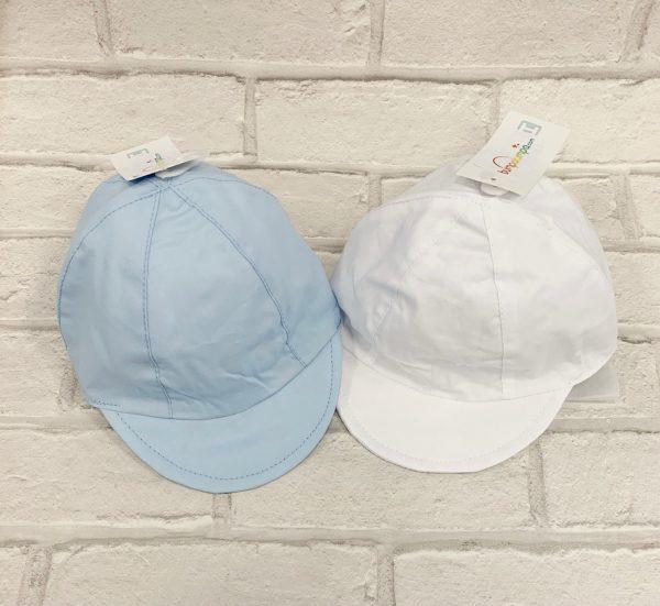 BABY BOYS BLUE STRIPE SHORTS SET