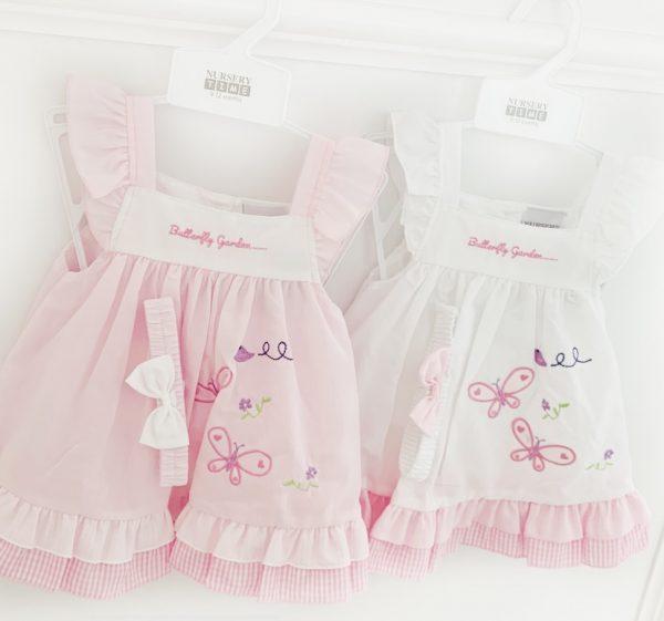 Baby Girls Butterly Summer Dress