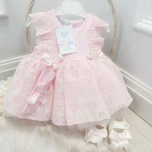 Baby Girls Pink Dress Set