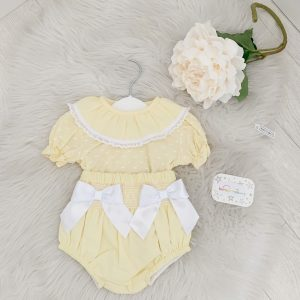 Baby Girls Yellow Set