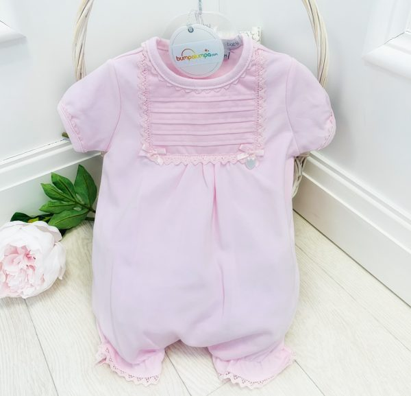BABY GIRLS PINK FRILL BLANKET