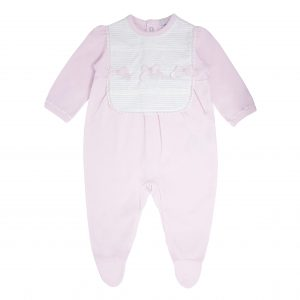 Baby Girls Babygrow with Bows
