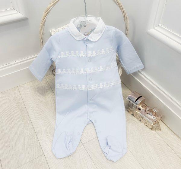 Baby Blue Bear Babygrow