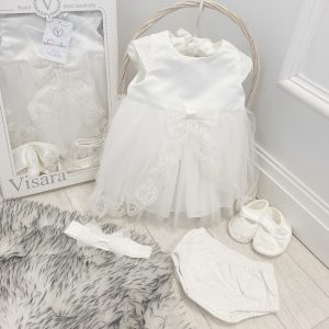 Baby Girls Christening Dress Set