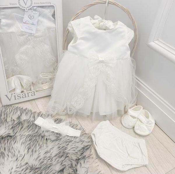 Baby Girls Christening Dress Set