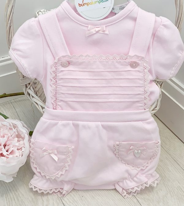 BABY GIRLS PINK SHORTIE