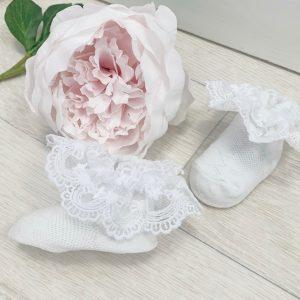 Baby Girls Frill Ankle Socks