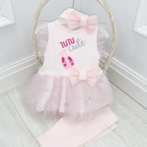 Baby Girls Ballerina Tutu Outfit