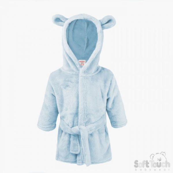 Personalised Baby Boys Dressing Gown