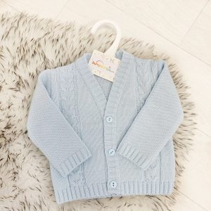 Baby Boys & Toddlers Blue Cardigan