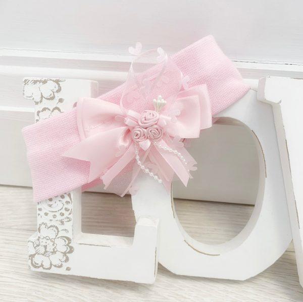 Baby Girls Pink Headband