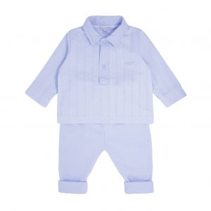 Toddlers Blue Top & Trousers Set