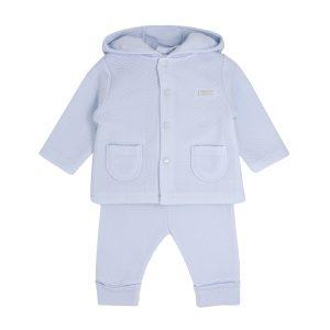 Baby Boys Blue 3 Piece Track Suit