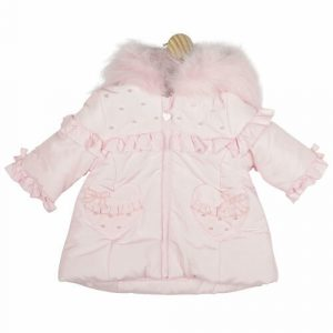 Baby Girls Pink Mintini Coat