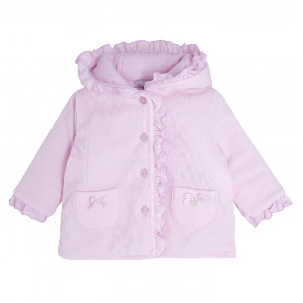 Pink Padded Baby Jacket